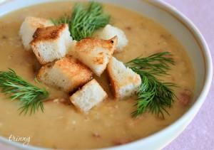 очень вкусный чечевичный суп-пюре