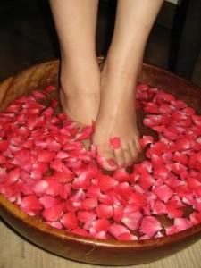 контрастные ванны для уставших ног