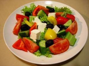 правила подачи салатов, правила приготовления салата