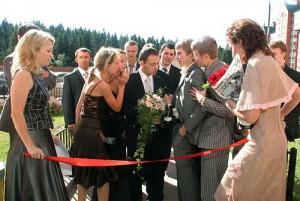 церемония выкупа невесты
