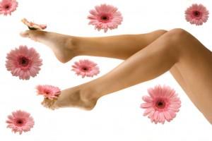 как сделать колени красивыми