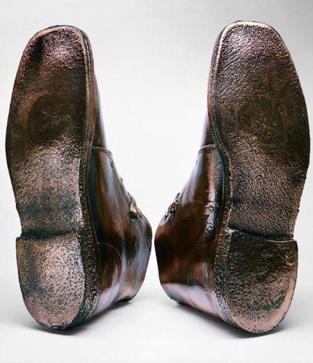Ботинки Билла Гейнса