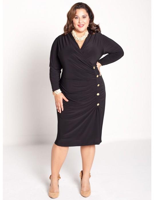 Модная одежда для полных женщин 2011