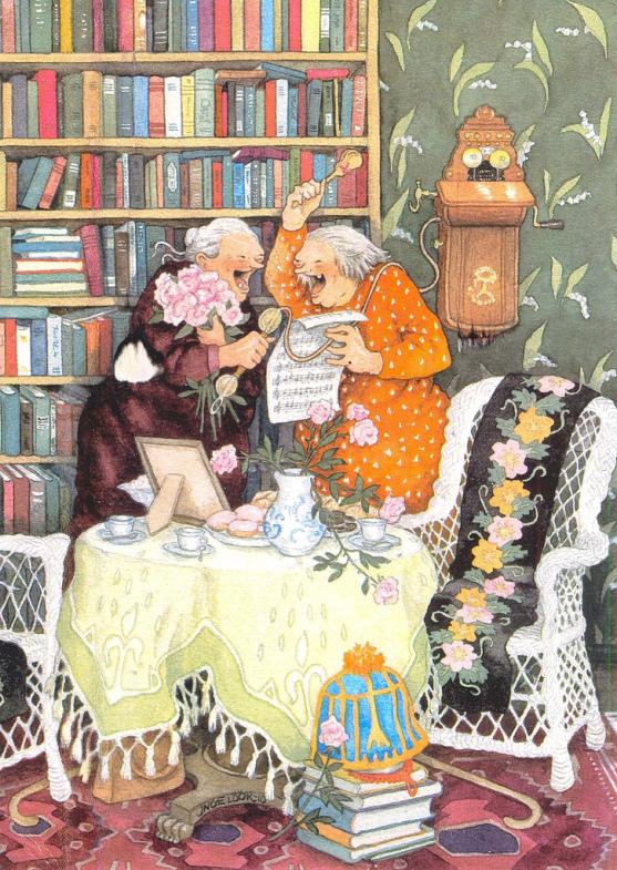 веселые старушки, когда я стану бабушкой, классные бабушки