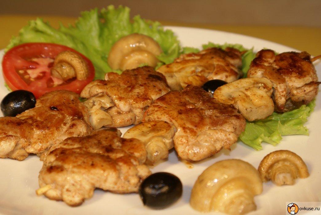 Рецепт приготовления вкусного шашлыка из курицы