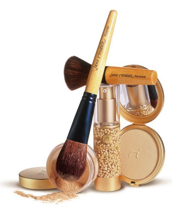 Минеральная косметика для ухода и макияжа