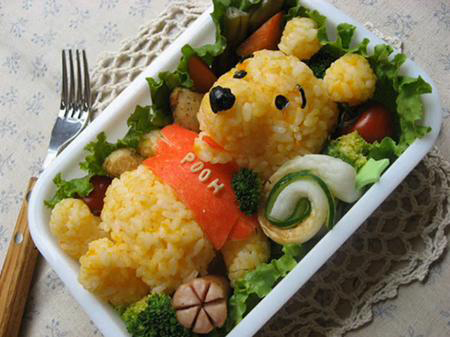 салат-мишка