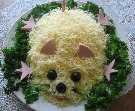 салат-мышка