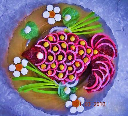 салат-рыба