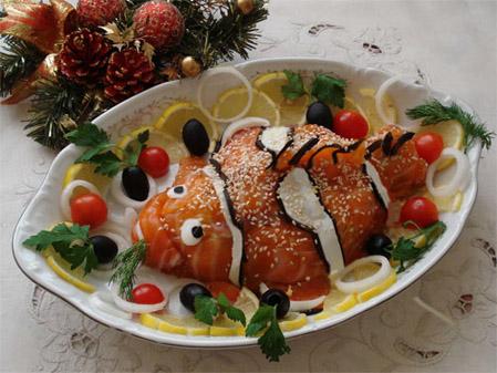 салат-рыбка