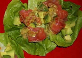 салат с авокадо и лососем (2)