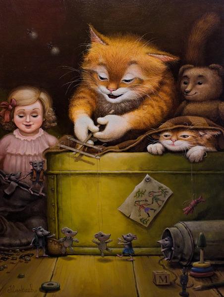 сказочные коты_Маскаев_Бабушкин чулан(кукольник)