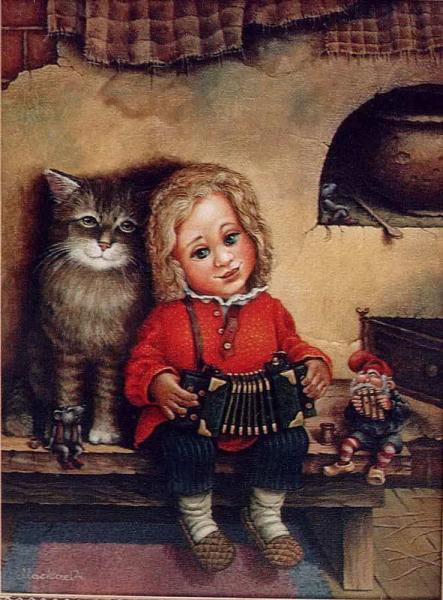 сказочные коты_Маскаев_Грусть