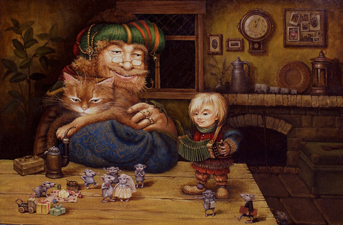 сказочные коты_Маскаев_Свадьба