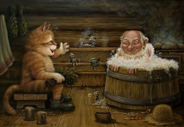 сказочные коты_Маскаев_а теперь на полок...