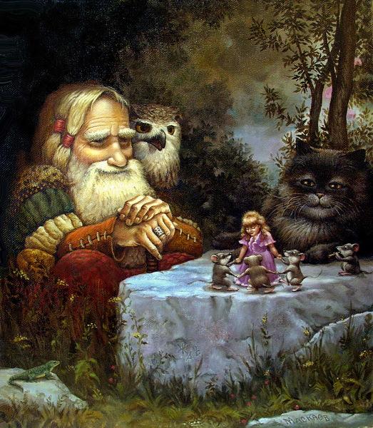 сказочные коты_Маскаев_именины