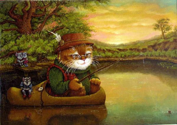 сказочные коты_Маскаев_ловись...