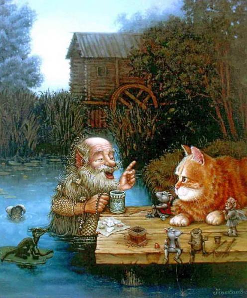 сказочные коты_Маскаев_особенности рыбалки