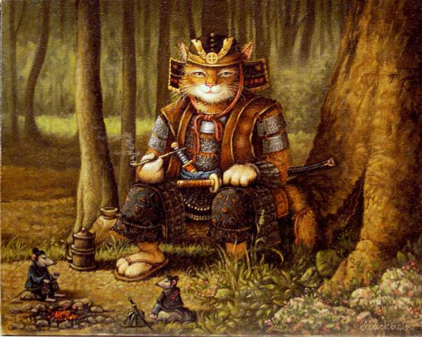 сказочные коты_Маскаев_путь самурая2