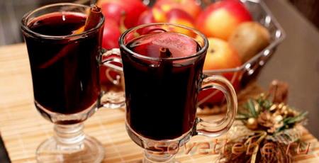горячие напитки-яблочно-кленовый пунш
