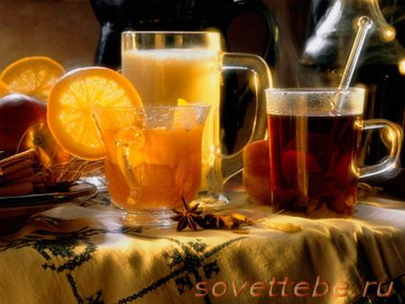 горячие напитки_глитвейн с фруктами