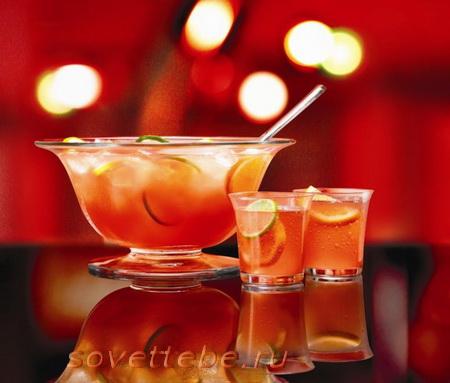 горячие напитки_лимонно-яблочный пунш