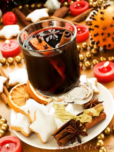 горячие напитки_рождественский пунш