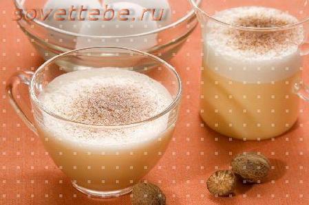 горячие напитки_яичный пунш