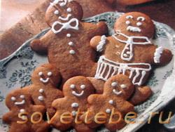 печенье Весёлые человечки