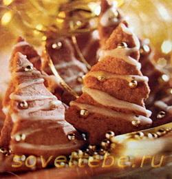 печенье ёлочки