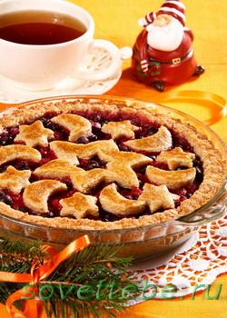 рождественский пирог1